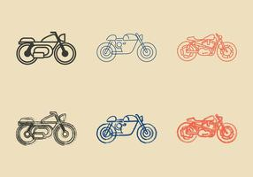 Free Cafe Racer Vektor-Illustration vektor