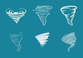 Kostenlose Tornado Vektor-Illustration vektor
