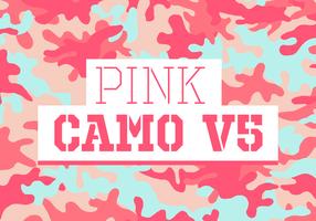 Rosa Camo Vektor Hintergrund Textur V5