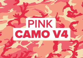 Rosa Camo Vektor Hintergrund Textur V4