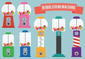 Bubblegum maskinvektorer vektor