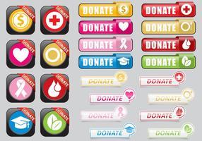 Spenden Sie Web Buttons