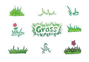 Freie Gras Vektor Serie