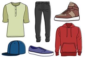 Freie Kleidung Vektor