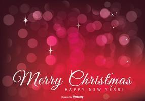 Schöne frohe Weihnachten Illustration vektor