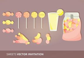 Süßigkeit Set Vektoren