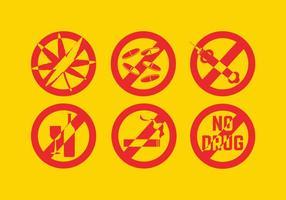 Keine Drug-Vektoren vektor