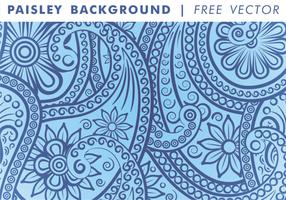 Paisley Bakgrund Vol. 3 Gratis Vector