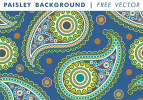 Paisley Hintergrund Vol. 2 Freier Vektor