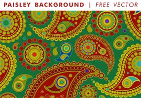 Paisley Hintergrund Vol. 1 Freier Vektor