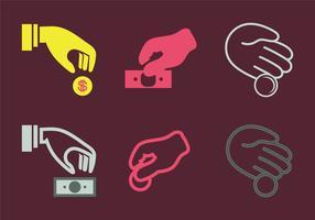 Kostenlose Spende Vector Icon