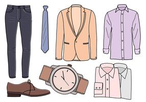 Freie Kleidung Vektoren