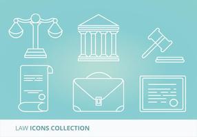 Gesetz Vector Icons