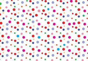 Polka Dot Muster Vektor
