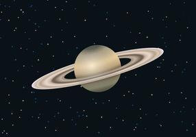 Freier Saturn Planet Vektor