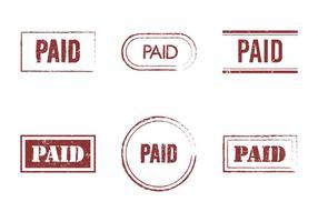 Kostenlose bezahlte Vektor-Icon