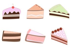 Freier Kuchen-Vektor