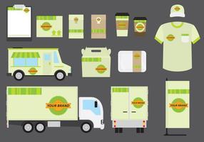 Bio-Lebensmittel-Business-Vorlage