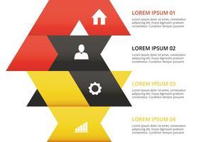 Infografischer Design-Vektor vektor
