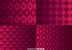Geomaterischer purpurroter Hintergrund