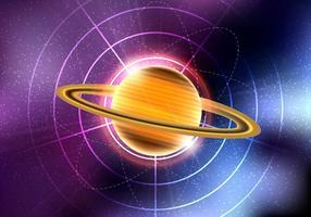 Saturn-Planeten-Vektor vektor