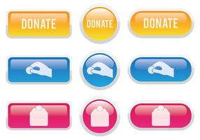 Spenden Button vektor