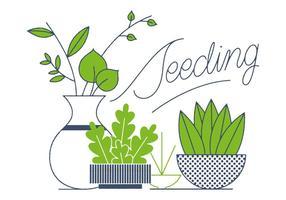 Freier Garten Vektor