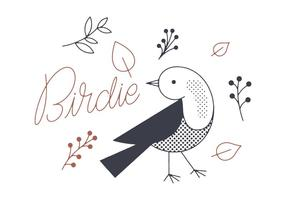 Gratis Birdie Vector
