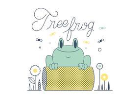 Free Frosch Vektor