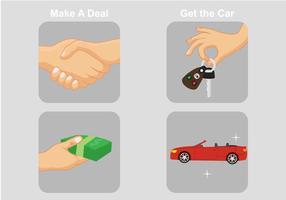Autohändler-Vektoren vektor