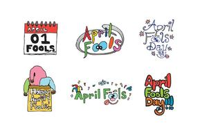 Gratis April Fools Vector Series