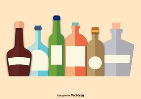 Giftflaschen vektor