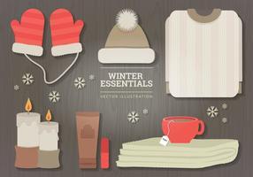 Vinter väsen vektor illustration