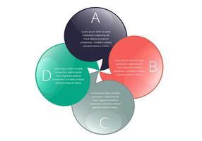 Infografische Chat-Blasen-Design vektor