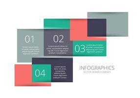 Infografischer Vektor Hintergrund