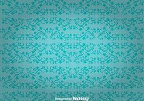 Blå blommor prydnad vägg tapestry