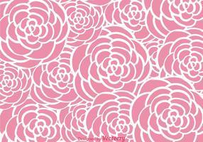 Rosa Rosen Wandteppich vektor