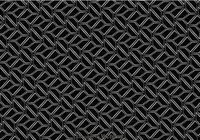 Schwarz-Weiß-Retro-Muster
