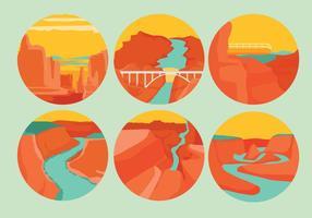Grand Canyon Vektoren