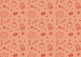 Free School Lunch Vektor Muster # 1