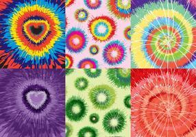Set Farben Textur vektor