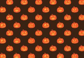 Gratis Vector Mönster Pumpa Halloween