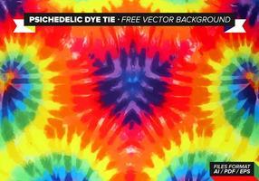 Psychedelic Dye Tie Gratis Vector Bakgrund