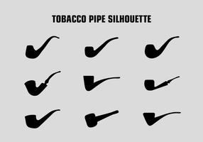GRATIS TOBACCO PIPE SILHOUETTE