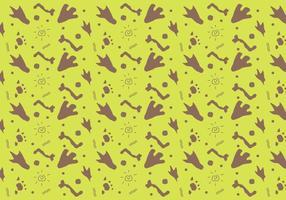 Freies Dinosauriermuster # 9 vektor