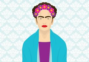 Frida khalo vektor