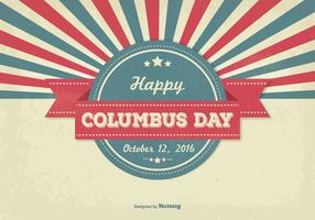 Columbus dag illustration vektor