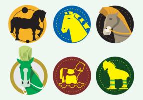 Trojanische Pferde Illustration
