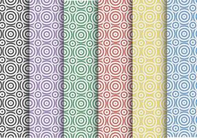 Kreatives Kreis-Vektor-Muster