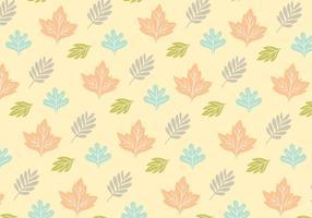 Leafy Pattern Hintergrund Vektor